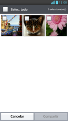 Transferir fotos vía Bluetooth - LG Optimus G Pro Lite - Passo 6