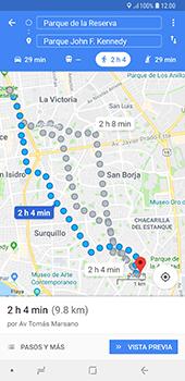 Uso de la navegación GPS - Samsung A7 2018 - Passo 16