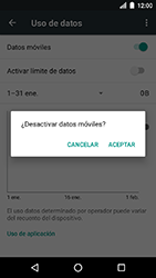 Desactiva tu conexión de datos - LG K8 (2017) - Passo 5