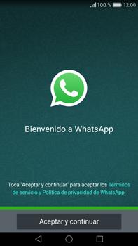 Configuración de Whatsapp - Huawei Mate 8 - Passo 4
