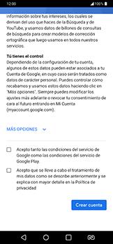 Crea una cuenta - LG G7 Fit - Passo 13