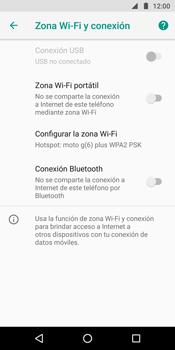 Comparte la conexión de datos con una PC - Motorola Moto G6 Plus - Passo 6