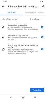 Limpieza de explorador - Motorola One Zoom - Passo 11