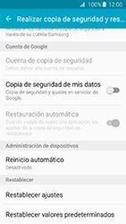 Restaura la configuración de fábrica - Samsung Galaxy J3 - J320 - Passo 5