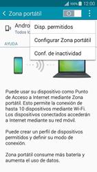 Configura el hotspot móvil - Samsung Galaxy A3 - A300M - Passo 7