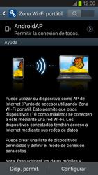 Configura el hotspot móvil - Samsung Galaxy S 3  GT - I9300 - Passo 7
