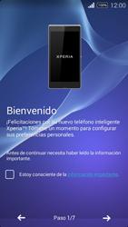 Activa el equipo - Sony Xperia E3 D2203 - Passo 4
