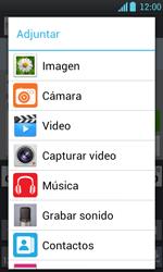 Envía fotos, videos y audio por mensaje de texto - LG Optimus L7 - Passo 13