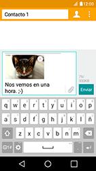 Envía fotos, videos y audio por mensaje de texto - LG K4 - Passo 19