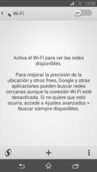 Configura el WiFi - Sony Xperia Z3 Compact - Passo 5