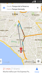 Uso de la navegación GPS - Samsung Galaxy S5 - G900F - Passo 12