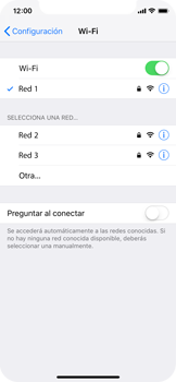 Configura el WiFi - Apple iPhone XS - Passo 7