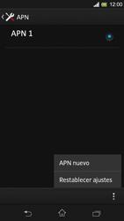 Configura el Internet - Sony Xperia SP C5302 - Passo 10