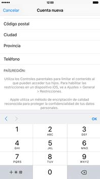 Crea una cuenta - Apple iPhone 6 Plus - Passo 22