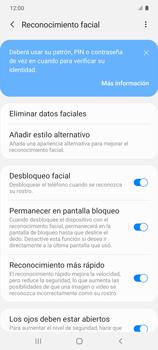 Cómo configurar el Face ID - Samsung Galaxy S10 Lite - Passo 15