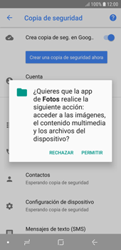 Realiza una copia de seguridad con tu cuenta - Samsung J6 - Passo 11