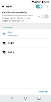 Configura el WiFi - LG Q6 - Passo 8