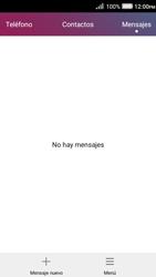 Envía fotos, videos y audio por mensaje de texto - Huawei Y3 II - Passo 2