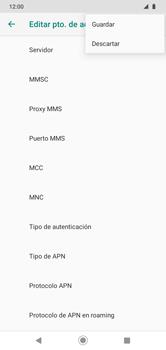 Configura el  Internet - Motorola Moto G8 Play (Single SIM) - Passo 17