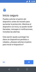Desbloqueo del equipo por medio del patrón - Motorola Moto E5 Play - Passo 7