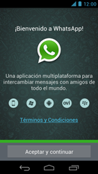 Configuración de Whatsapp - Motorola RAZR D3 XT919 - Passo 4