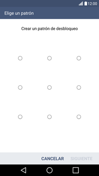 Desbloqueo del equipo por medio del patrón - LG V10 - Passo 8