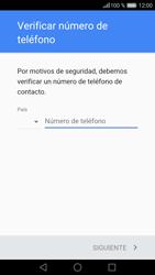 Crea una cuenta - Huawei P9 - Passo 5
