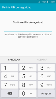 Desbloqueo del equipo por medio del patrón - Samsung Galaxy Note 5 - N920 - Passo 13