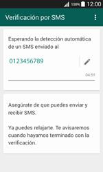 Configuración de Whatsapp - Samsung Galaxy Core Prime - G360 - Passo 7