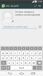 Configuración de Whatsapp - LG G3 Beat - Passo 8