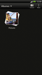 Transferir fotos vía Bluetooth - HTC One S - Passo 4