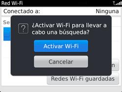 Configura el WiFi - BlackBerry Bold 9720 - Passo 6
