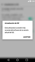 Actualiza el software del equipo - LG X Power - Passo 11
