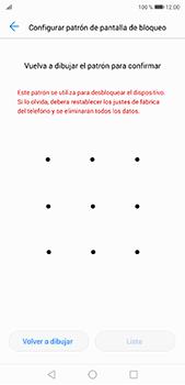 Desbloqueo del equipo por medio del patrón - Huawei P20 Pro - Passo 8