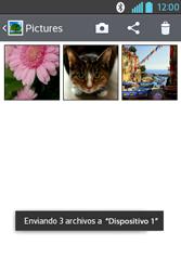 Transferir fotos vía Bluetooth - LG L4 II - Passo 11