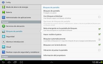 Desbloqueo del equipo por medio del patrón - Samsung Galaxy Note 10-1 - N8000 - Passo 16