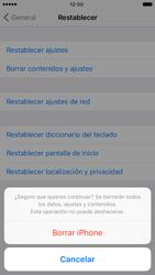 Restaura la configuración de fábrica - Apple iPhone 6s - Passo 7