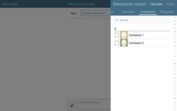 Envía fotos, videos y audio por mensaje de texto - Samsung Galaxy Note Pro - Passo 5