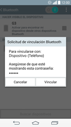 Conecta con otro dispositivo Bluetooth - LG G3 D855 - Passo 7