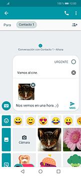 Envía fotos, videos y audio por mensaje de texto - Huawei Mate 20 Lite - Passo 15