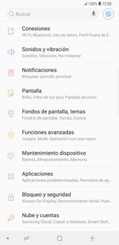 Activa o desactiva el uso del código de seguridad - Samsung Galaxy Note 9 - Passo 3