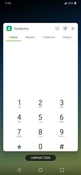 Cómo ver dos aplicaciones a la vez en pantalla - LG K40S - Passo 3
