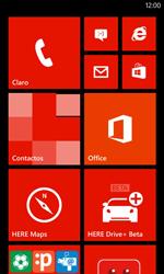 Restaura la configuración de fábrica - Nokia Lumia 720 - Passo 1