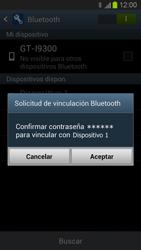 Conecta con otro dispositivo Bluetooth - Samsung Galaxy S 3  GT - I9300 - Passo 7