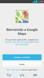 Uso de la navegación GPS - LG G2 - Passo 4
