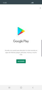 Crea una cuenta - Samsung S10+ - Passo 3