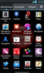 Uso de la navegación GPS - LG Optimus L7 - Passo 3