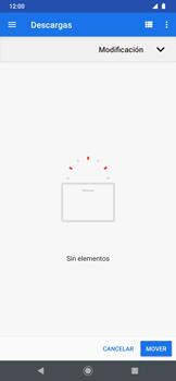 Transferir datos desde tu dispositivo a la tarjeta SD - Motorola One Zoom - Passo 11