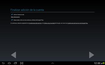 Crea una cuenta - Samsung Galaxy Note 10-1 - N8000 - Passo 19
