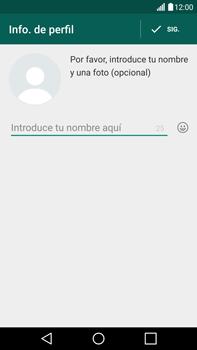 Configuración de Whatsapp - LG V10 - Passo 8